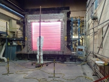 Fire door test